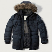 Куртка Abercrombie Fitch HOODED PUFFER PARKA