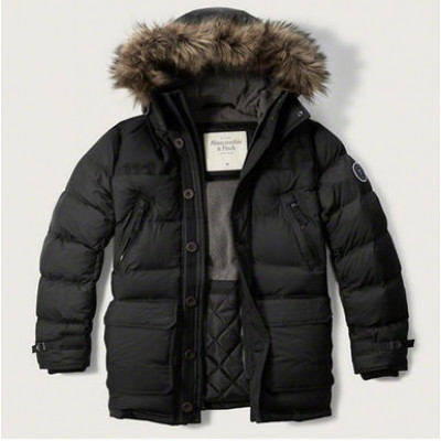 Куртка Abercrombie Fitch Парка HOODED PUFFER PARKA