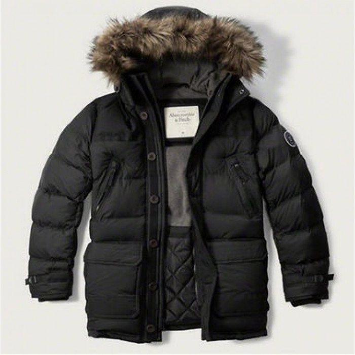 4e0827e4 Купить. Куртка Abercrombie Fitch Парка HOODED PUFFER PARKA